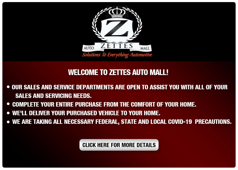 Welcome To Zettes Auto Mall!